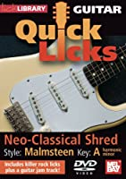 Guitar Quick Licks: Yngwie Malmsteen Style [DVD] [Import]