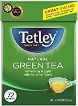Tetley Green Tea, 72 Tea Bags (Pack of 6)