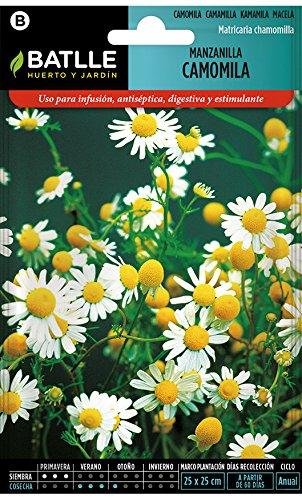 Empleo: Normalmente sus flores se utilizan como infusión muy apreciada por su sabor, y en medicina como digestivo, antiséptico, estimulante y refrescante Siembra: De asiento en Primavera aclarando al marco de 25 cm Floración: De Junio a Septiembre.