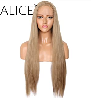 ALICE Lace Front Blonde Wig, 24