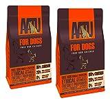 AATU 80/20 Adult Dog Dry Food Chicken High Protein Grain Free Recipe 20kg Set