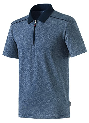 Schneider Sportswear Olli Poloshirt Polo Homme, Noir, FR : L (Taille Fabricant : 52)