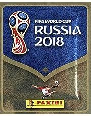 مجموعة ملصق كأس العالم روسيا فيفا 2018 من بانيني- 1 عبوة ملصق