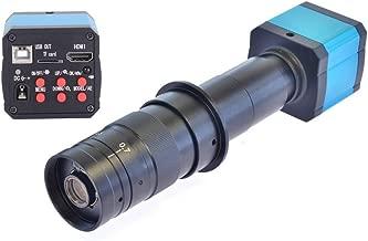 HAYEAR 14MP HD TV HDMI USB Industry Digital C-Mount Microscope Camera TF Card + 180x Zoom C-Mount Lens