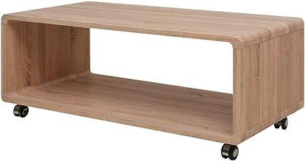 Amazon Fr Table Basse Avec Roulettes