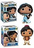 Funko POP! Aladdin: Disney Princess Jasmine + Aladdin – Vinyl Figure Set NEW