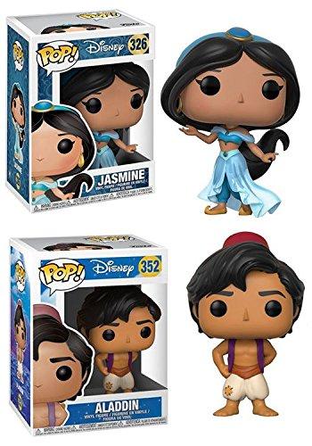 Funko POP!: Disney: Aladdin: Jasmine + Aladdin