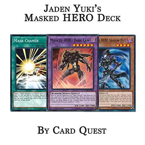 Yu-Gi-Oh! Jaden Yuki Complete Elemental & Masked Hero Deck