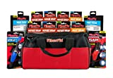 FiberFix Ultimate Kit- 12 rolls of Repair Wrap, 2 rolls of Heat Wrap, 6 Rigid Patches, UV Pen and Flash Pen- Fix Anything with Permanent Waterproof Repair Tape 100x Stronger than Duct Tape