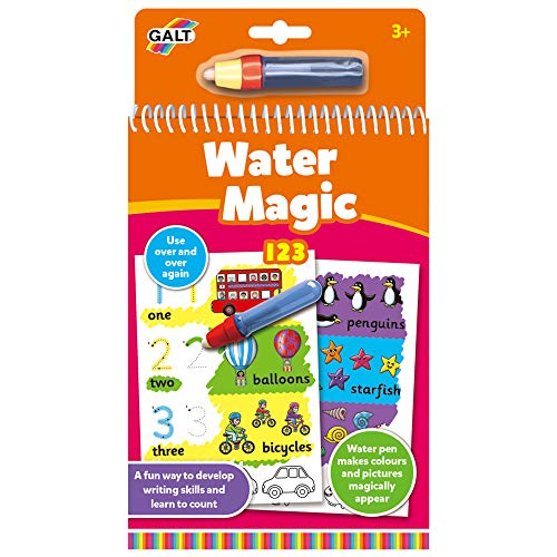 Galt Toys, Water Magic - 123, Colouring Book for Children, Ages 3 Years...