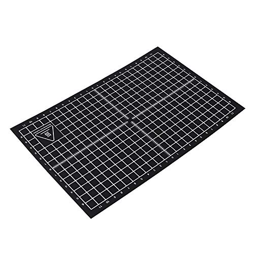 Heated Bed 3D Printer,Entweg 3D Printer Accessories Hot Bed 8 * 12inch / 200 * 300mm Stick Heated Tape 3D Printing Build Surface Sheets for MK2A i3 MK3