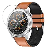 Vaxson 3 x 9H Tempered Glass Screen Protector for Lemfo 1.3 Inch LF26 Smartwatch Smart Watch Tempered Glass Screen Protector Smart Watch Bracelet Smartwatch