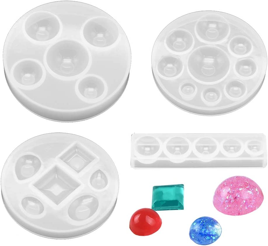 Daimay Jewelry Casting Molds Silicone Austin Mall Mold J Pendant New popularity Resin
