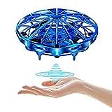 UTTORA UFO Mini Drohne, Kinder Spielzeug Handsensor Quadcopter Infrarot-Induktions-Flying Ball Fliegendes Spielzeug Geschenke für Jungen Mädchen