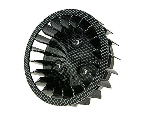 Ventilador Cilindro de Aspecto de Carbono para Mina Relli Tumbado, Keeway, CPI, 1E40Qmb