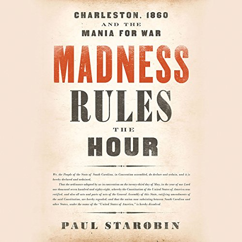 Madness Rules the Hour audiobook cover art