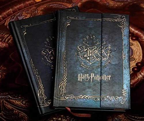 Bureze Agenda vintage de Harry Potter con calendario 2017-2018-2019, con tapa dura, agenda de regalo
