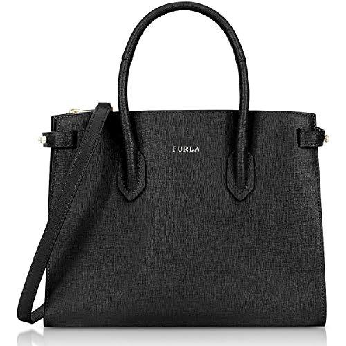 Furla Spring/Summer Ladies Small Black Leather Shoulder Bag 942235