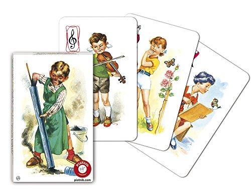 Piatnik 4273 - Kartenspiel Schwarzer Peter - Kinderbilder