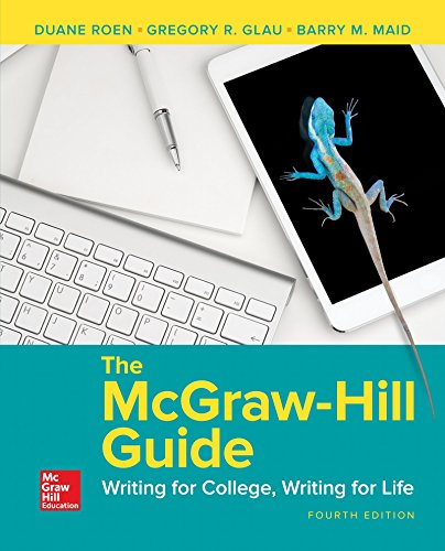 McGraw-Hill Guide: Writing For College W