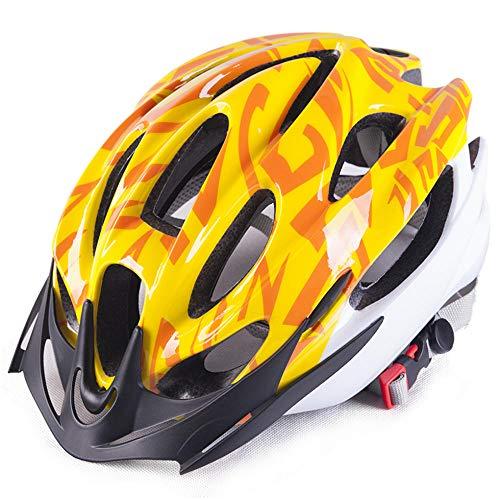 Xiaopeng Casco de Ciclismo Moldeado integralmente para Hombres, Seguridad Deportiva, Casco de Bicicleta Ultraligero, 15 Agujeros, Casco de Bicicleta para Hombres Adultos, Gorra de Visera Unisex