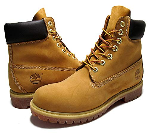 [ティンバーランド] 6インチ プレミアム ブーツ メンズ ウィート メンズ イエローブーツ 10061 6inch Premium Boots wheat 28cm(US10) [並行輸入品]