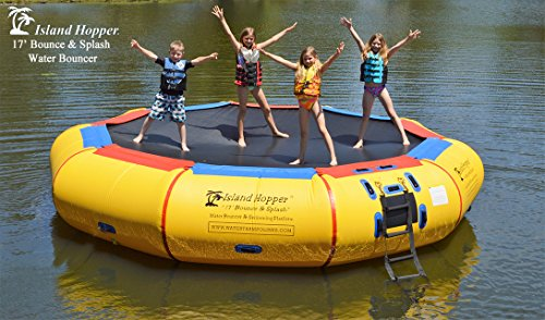 Island Hopper Bounce N Splash Padded Water Bouncer