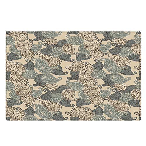 European Style Fashion Printed Non-Slip Carpet Suitable For Floor Mats In Hallways, Bathrooms And Bedrooms Non-Shedding Pet Mat Durable