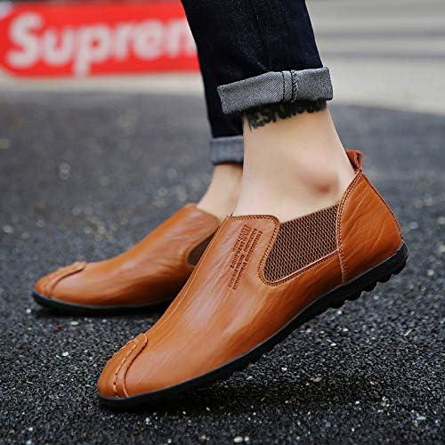 LOVDRAM Chaussures en Cuir pour Hommes Chaussures Casual pour Hommes 38-44