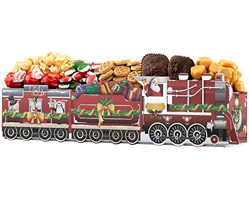 Wine Country Gift Baskets Christmas Express Holiday Favorite Sweets Train Gift