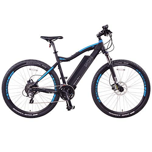 Moscow Plus Electric Mountain Bike 768 Wh 48V/16AH Black 27.5'
