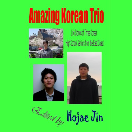 Amazing Korean Trio audiobook cover art