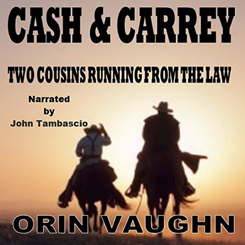 Cash and Carrey audiobook cover art