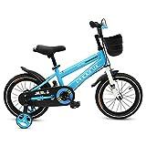 Phoenix KAKU Kids Bike for Boys and Girls, 12 14 16 18 inch with Training Wheels, in Multiple Colors (Blue, 18 Inch with Training Wheels)