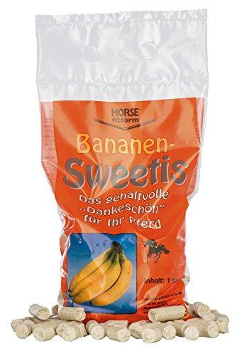 Kerbl Bananen Sweeties, 1er Pack (1 x 1 kg)
