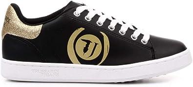 Trussardi Jeans 79A00423 Sneaker Nero/oroEcopelle