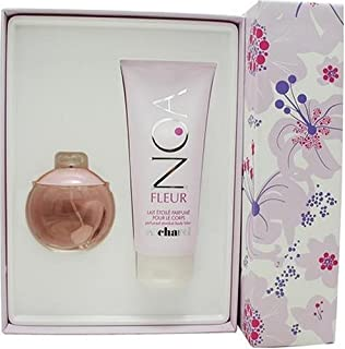 Noa Fleur By Cacharel For Women. Set-edt Spray 3.4 Ounces & Body Lotion 6.7 Ounces