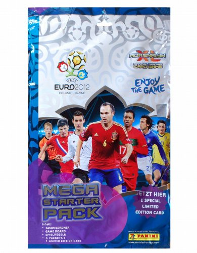 Panini – Adrenalyn XL – Uefa Euro 2012 – Starter Pack (Import Royaume Uni)