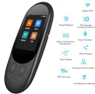CZZ Portable Voice Translator Mini Pocket Real Time Multi Languages Offline Travel Tradutor Interpreter Machine for Learning Shopping Business Travel