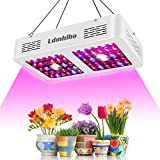 Ldmhlho 600W Cree COB LED Grow Light, Dual Reflectors Full Spectrum Plant Growing Lights with Daisy Chain Function Cultivation Lamp for Indoor Hydroponic Greenhouse Plants Veg and Flowering