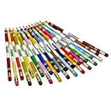 Crayola Erasable Colored Pencils, Kids At Home Activities, 24 Count, Assorted., Long