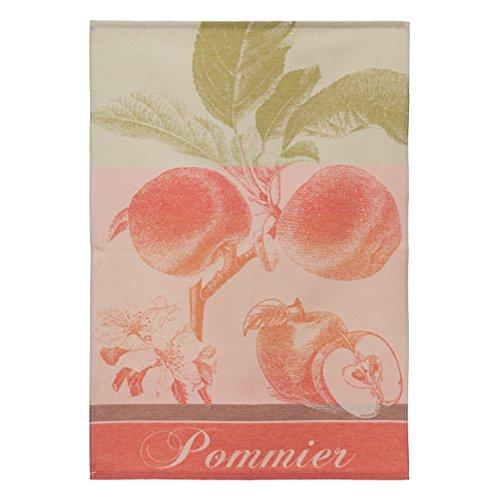 Coucke - Torchon Pommiers 50X75cm Rouge