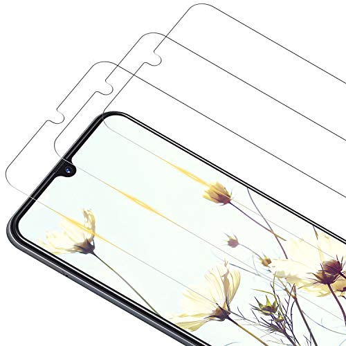 RIIMUHIR Verre Trempé pour Samsung Galaxy A10, [3 Pièces] 9H Dureté Film de Protection d'écran en Verre Trempé, Anti-Rayures, sans Bulles, Haute Sensibilité, Vitre Samsung A10