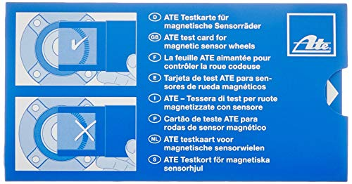 ATE 760130 ABS Test Card for Magnetic Sensor Wheels