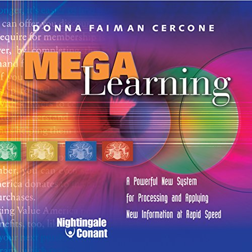 Mega Learning audiobook cover art