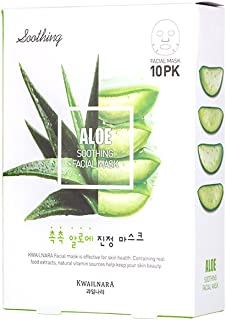 Best kwailnara aloe soothing facial mask Reviews