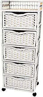 Best white rattan drawers Reviews