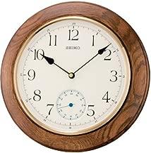 Seiko Wall Clock (30 cm x 30 cm x 4.7 cm, Brown, QXA432BN)