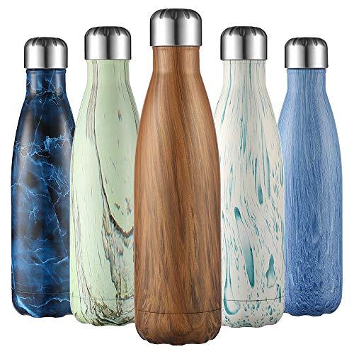 Leifheit Flip Gourde r/éutilisable 600 ml argent/é bouteille infusion avec filtre /& protection silicone bouteille en verre 100 /% /étanche