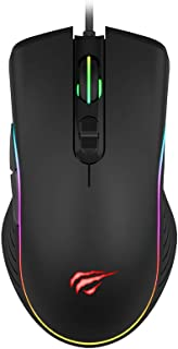 Mouse Gamer RGB Havit MS1006 com 7 Botões Resoluções 1000-1600-2400-3200 DPI